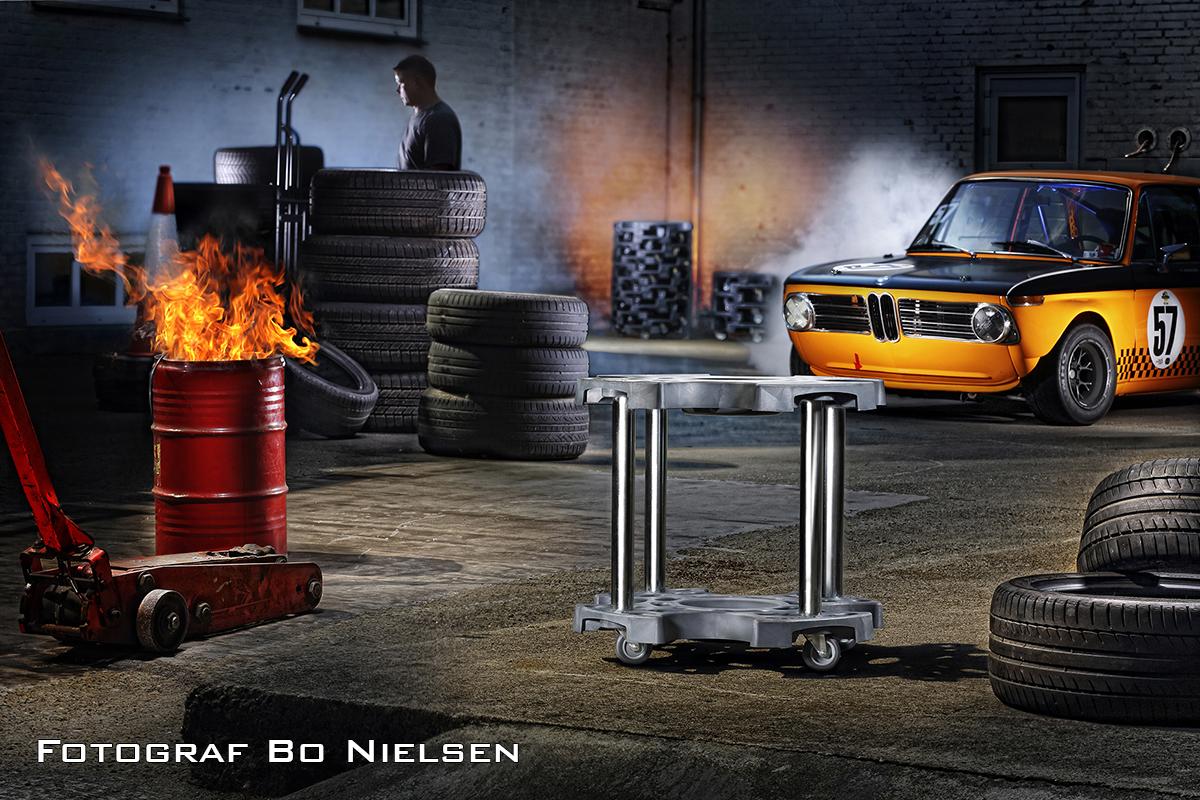 Reklame og produktoptagelser onlocation, video optaget af Fotograf Bo Nielsen