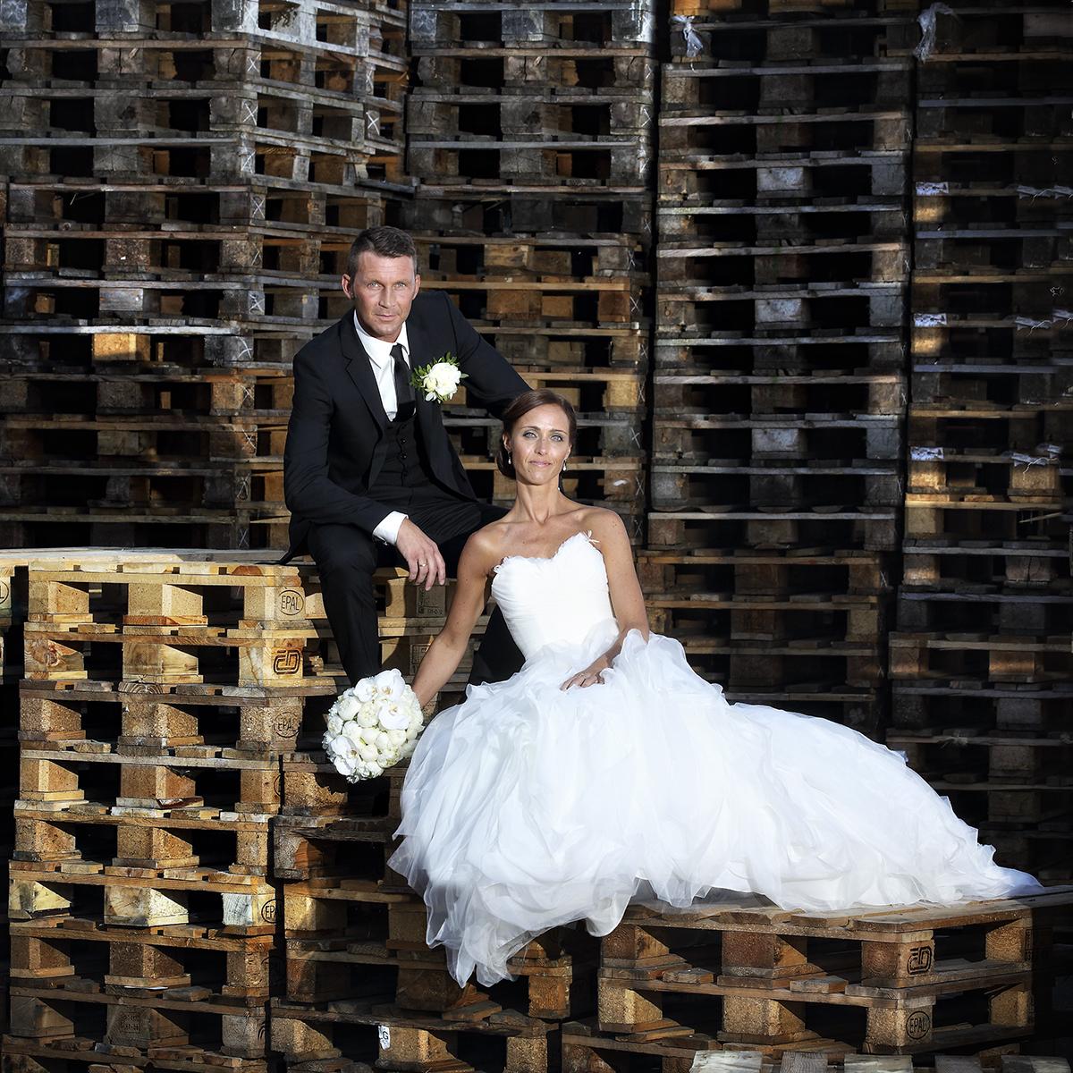 Bryllupsfotografering i og omkring Kolding